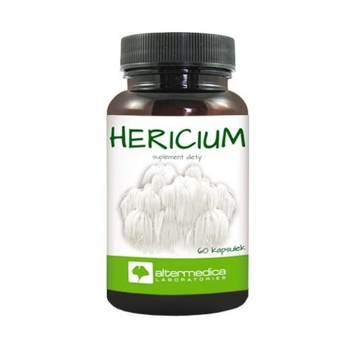 Kapsułki Hericium Soplówka jeżowata 250mg 60 kaps