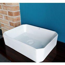 C705 Biała Umywalka Ceramiczna Nablatowa 29cm