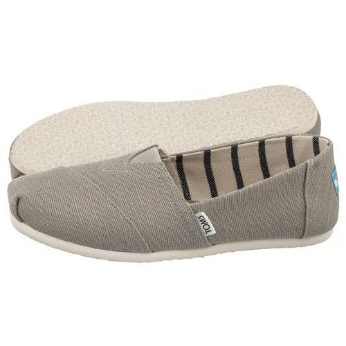 Espadryle Toms Classic Morning Dove Heritage Canvas(TS8-a)