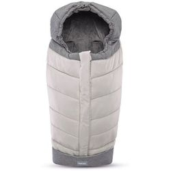Inglesina śpiworek newborn winter muff - silver
