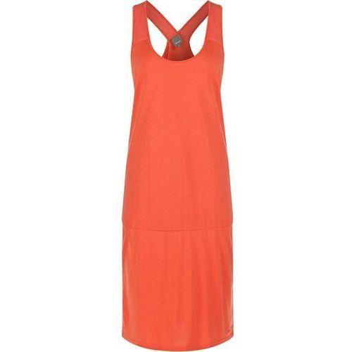 Sukienka BENCH - Lollyice Coral (PK032) rozmiar: XS, kolor pomarańczowy