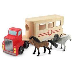 Melissa & doug. Ciężarówka z przyczepą dla koni, melissa & doug