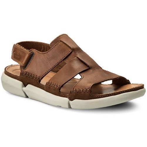 bbc65e250017 Sandały CLARKS - Trisand Bay 261240457 Tan Leather
