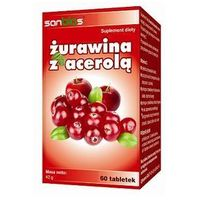 Tabletki Żurawina z acerolą 60 tabl.