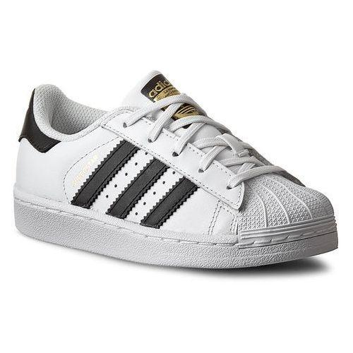 Adidas Buty - superstar foundation c ba8378 ftwwht/cblack/ftwwht