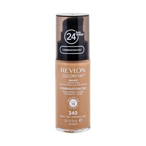 Revlon colorstay combination oily skin podkład 30 ml dla kobiet 340 early tan
