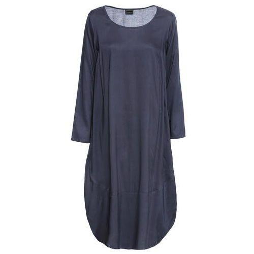 Sukienka bonprix czarno-kremowy, w 7 rozmiarach