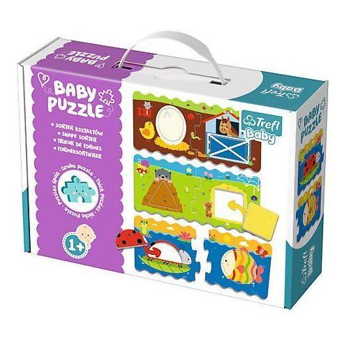Trefl Puzzle baby classic sorter kształtów (5900511360783)