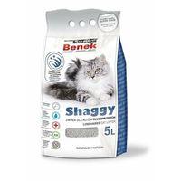 Żwirek super benek shaggy - żwirek dla kotów długowłosych 5l marki Certech