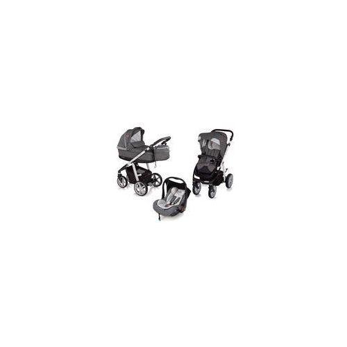 Baby design Wózek wielofunkcyjny 3w1 next + leo espiro (stylish graphite)