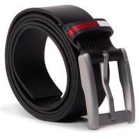 Pasek Męski TOMMY JEANS - Tjm Corp Leather Belt 3.5 AM0AM05957 BDS