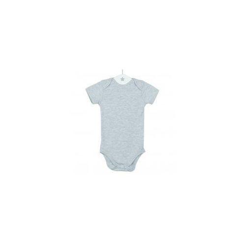 2b0015991cc3a1 ▷ Dziecięce body krótki rękaw szary melanż, B SZARY KR (Dolce Sonno ...