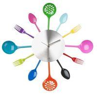 Pt Zegar ścienny silverware utensils