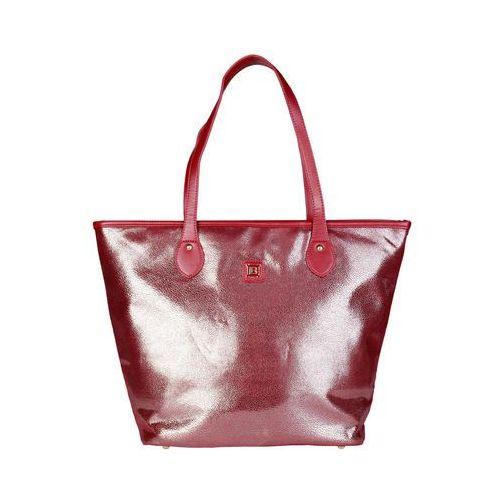 Torebka shopper damska LAURA BIAGIOTTI - LB17W100-37-88, kolor czerwony