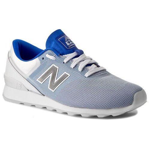 Sneakersy NEW BALANCE - WR996RBB Biały Granatowy, kolor niebieski