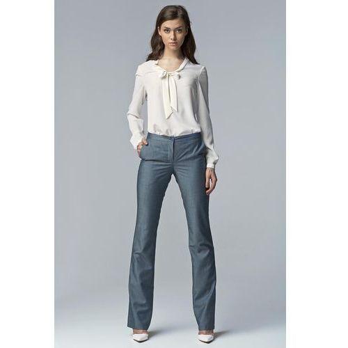 b41ce3a6 Jeansowe Eleganckie Spodnie Damskie Bootcut, jeans (Nife)