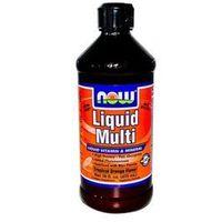 NOW Foods Liquid Multi Tropical Orange- Witaminy i minerały w formie płynnej, 500 ml