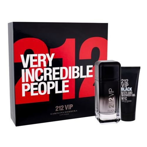 Carolina herrera 212 men vip black zestaw edp 100 ml dla panów (8411061897201)
