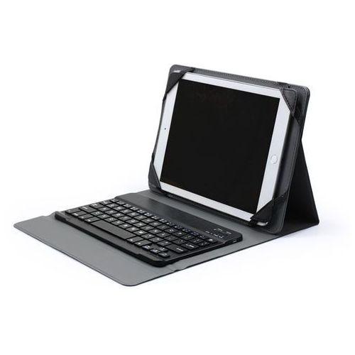 Uniwersalne etui na tablet 10 cali z klawiaturą - czarne, ET00000BLTKBLK010