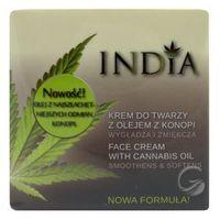 Krem do twarzy z olejem z konopi 50ml India Cosmetics