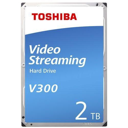 Dysk TOSHIBA V300 2TB (HDWU120UZSVA) + Zamów z DOSTAWĄ JUTRO! + DARMOWY TRANSPORT! (4547808810777)