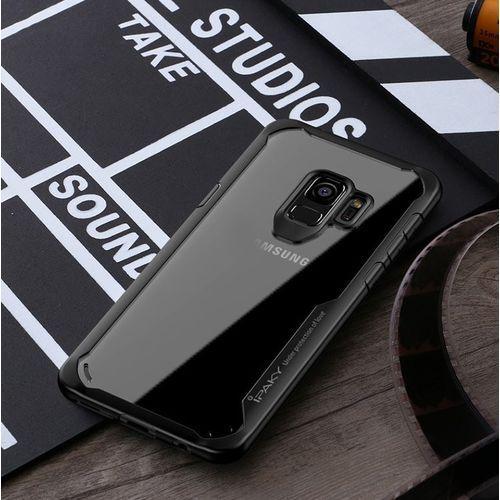 Survival żelowy pokrowiec wzmocnione etui Samsung Galaxy S9 Plus G965 czarny, 40876 (iPaky)