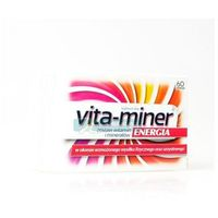 Tabletki Vita-miner Energia tabletki 60szt