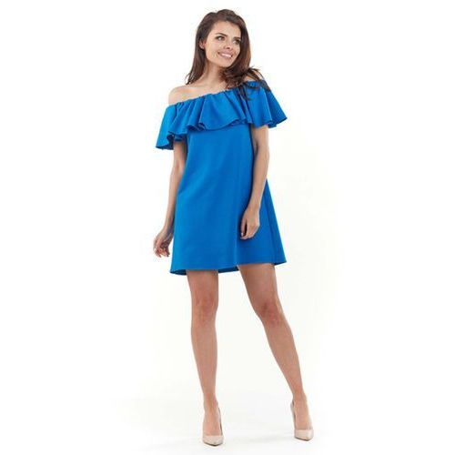 8146c5c0eb Zobacz ofertę Lou-lou Niebieska wyjściowa sukienka mini typu hiszpanka