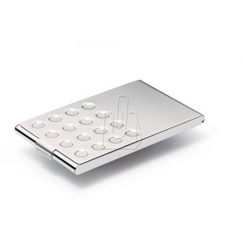 Durable Etui na wizytówki 20 sztuk business card box chrome 2440 (4005546212739)