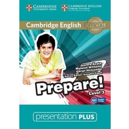 Cambridge English Prepare! 3 Presentation Plus DVD (Płyta DVD)