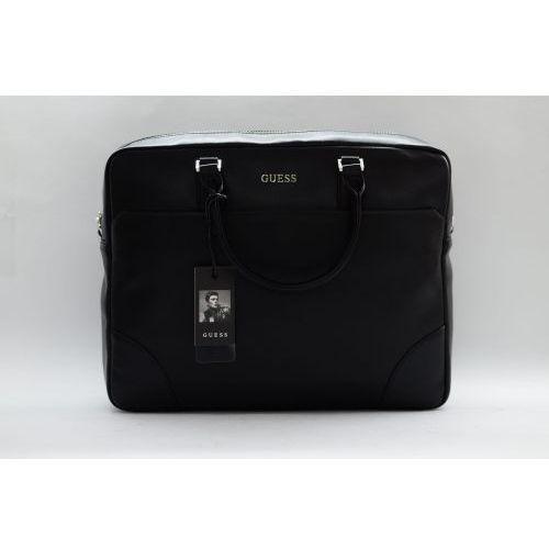 Torba Aktówka Na Laptopa Czarna, HM6809 POL94 (GUESS)