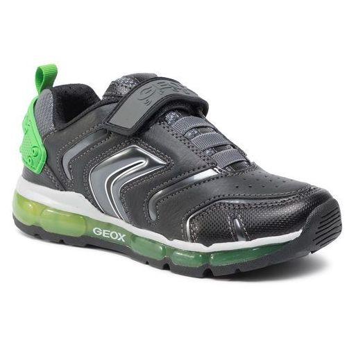 Sneakersy - j android b. b j9444b 0bu50 c4229 d black/ green marki Geox