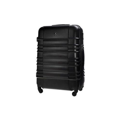 Średnia walizka podróżna m stl838 czarna (5900718506267)
