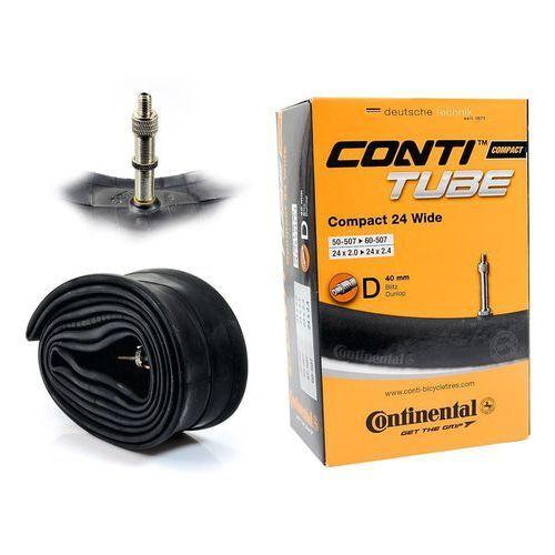 Continental Dętka compact 24'' x 2,0'' - 2,4'' wentyl dunlop 40 mm