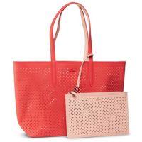 Torebka LACOSTE - Shopping Bag NF3091AS Bittersweet/Pale Blush D91