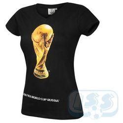 Dwcr47w: mistrzostwa świata rosja - t-shirt damski , World cup 2018