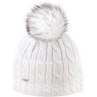 Kama czapka damska dzianinowa Merino A121 biała