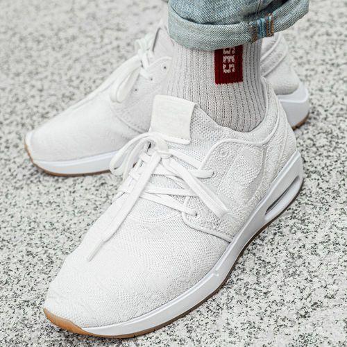 Buty sportowe damskie Nike SB Stefan Janoski Max 2 (AQ7477-100), kolor biały