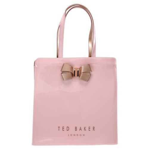 Ted Baker VALLCON BOW DETAIL LARGE ICON BAG Torba na zakupy pink