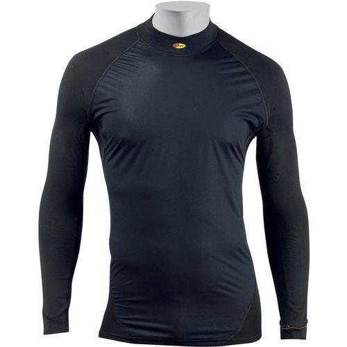 tech underwear front protection bielizna górna mężczyźni, black m 2019 podkoszulki z długim rękawem marki Northwave