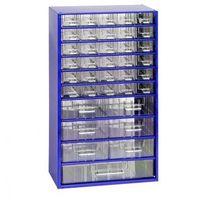 Metalowe szafki z szufladami, 30+6+1 szuflad marki Mars