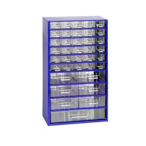 Metalowe szafki z szufladami, 37 szuflad (8595004167238)