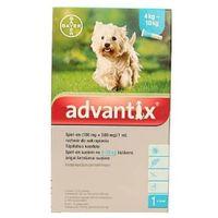 Bayer advantix dla psów od 4 do 10kg pipeta 1,0ml (4007221038450)