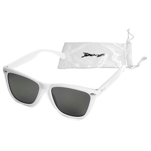 Okulary przeciwsłoneczne dzieci 4-10lat UV400 BANZ - Flyer White (9330696015561)