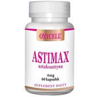 Astimax oxycell astaksantyna 4 mg 60 kapsułek przeciwutleniacz – ANANDA