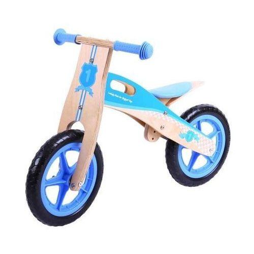 Rowerek biegowy dla dzieci- niebieski marki Bigjigs toys