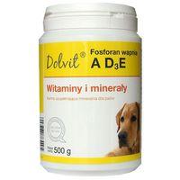 DOLFOS Fosforan wapnia z AD3E - preparat witaminowo - mineralny dla psów (proszek) 500g (5906764765405)