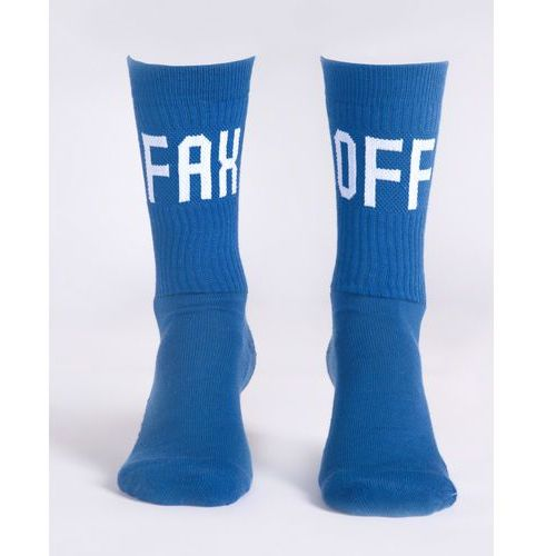 Jakub Polanka x Bibloo Fusain. Socks Niebieski 41-45, kolor niebieski