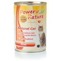 natural cat wołowina karma dla kotów w puszce 400g marki Power of nature