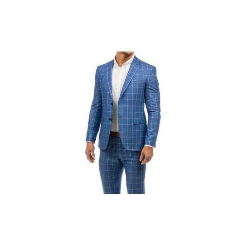Garnitur męski niebieski denley 2000k marki Biblos